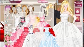 Barbie Wedding 💖💍Dress Up 💑💐Game 💎💕 БАРБИ Свадьба Одень Барби Невесту💍 Игра 💑💐👗💕💖