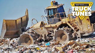 Kids Truck Video - Landfill Compactor