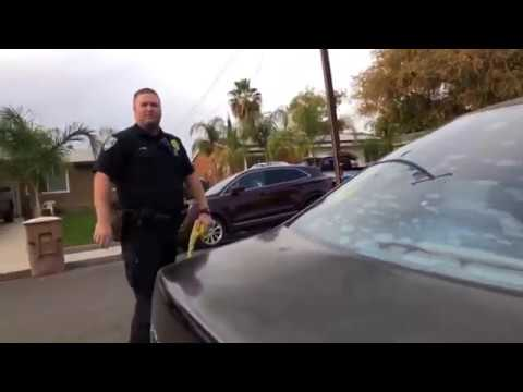 Kicked out of the street by Bakersfield PD. First Amendment Audit (Hit and Run) news bulletin