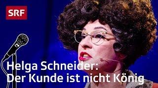 Helga Schneider: Auswärts essen in Zürich | Comedy Talent Show mit Lisa Christ | SRF Comedy