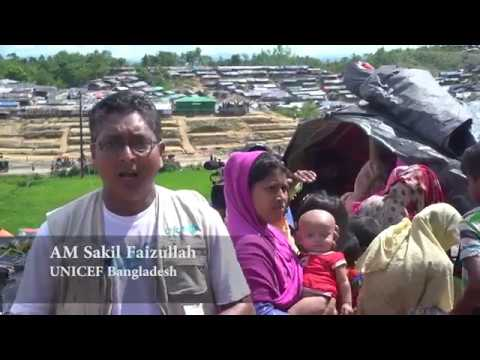 Oral cholera vaccination campaign at Rohingya camps