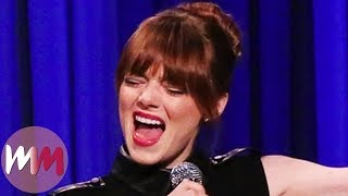 Top 10 Hilarious Emma Stone Moments YouTube Videos