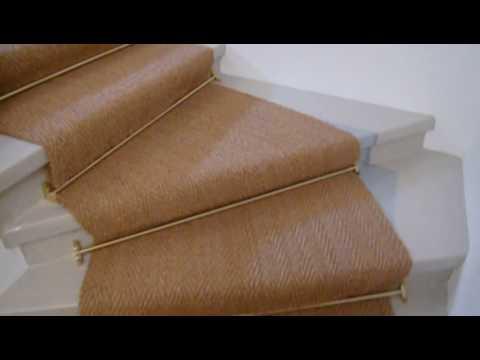 Berühmt Kokosteppich Treppenteppich - YouTube CW37