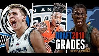 2018 NBA Draft Grades: Luka Doncic * Lonnie Walker * Jaren Jackson, Jr. [Southwest Division]