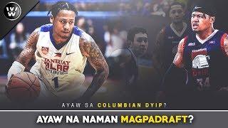 Ayaw na naman MagpaDraft? | Ray Parks jr. | PBA Draft