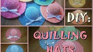 DIY: Quilling hat