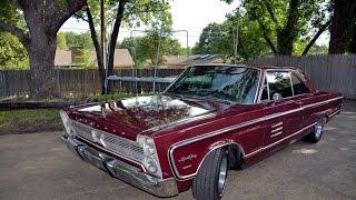 1966 Sport Fury 383 HP / 4 Speed Cold Start