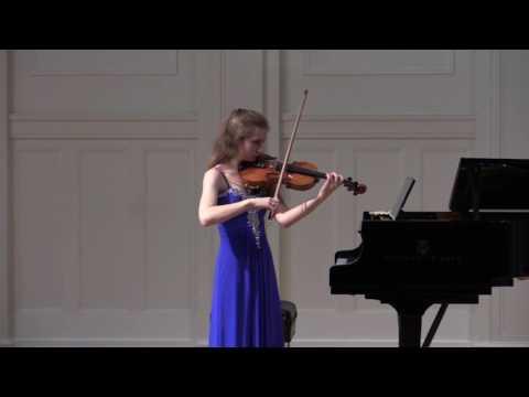 Elizabeth Bartusiak, October 25, 2016, at Music Institute of Chicago, Nichols Concert Hall