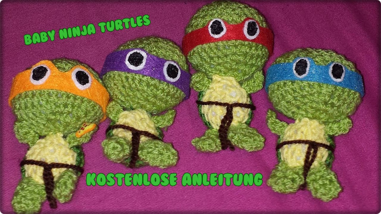 Baby Ninja Turtles Kostenlose Anleitung Youtube