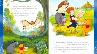 Walt Disney Pictures Presents Winnie the Pooh and Christopher Robin  Read Aloud Bedtime Storybook