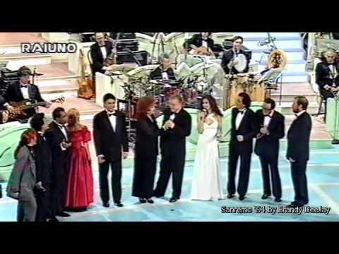 SQUADRA ITALIA - Una Vecchia Canzone Italiana (Sanremo 1994 - Seconda Esibizione - AUDIO HQ)