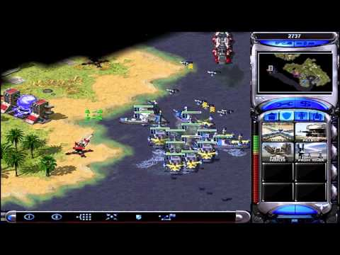 Let's Play Red Alert 2 Allied 5 (Pearl Harbour, Amphibious Mastery, Cheese Of Cheese)