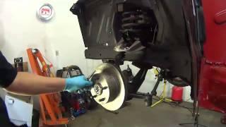 64 65 66 Mustang 4 to 5 lug disc brake conversion