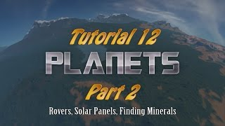 Space Engineers Tutorial 12 - Planets part 2