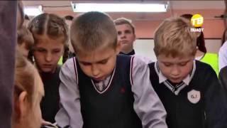 Для школьников Твери провели урок ПДД. 2016-10-11