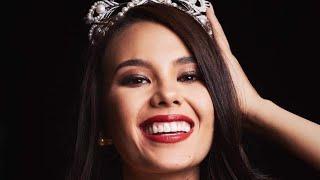 Ang sagot na tumapos ng laban! Miss Universe 2018 title holder Catriona Gray! 🇵🇭🎉 (clearer audio)