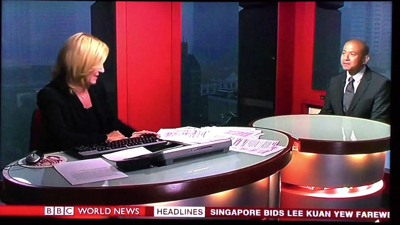 Interviewed on BBC during Lee Kuan Yew's state funeral, 29 March 2015