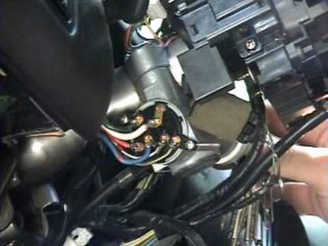 1997 Dodge Radio Wiring Diagram 1995 1999 Nissan Maxima Ignition Switch Replacement Youtube