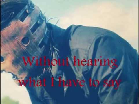 Slipknot - Danger, Keep away ( with Lyrics)
