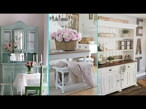 Diy Shabby Chic Style Dinning Room Decor Ideas  Home