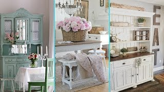 ❤ DIY Shabby Chic Style Dinning Room decor Ideas ❤ | Home decor & Interior design | Flamingo mango|