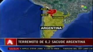 DEGS WEB: Terremoto de 6.2 sacude Argentina