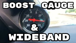 How to Install a Wideband and Boost Gauge | LSA Blower Swap