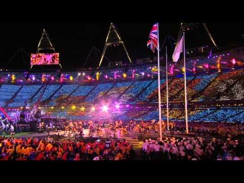 London 2012 Coldplay Ft Rihanna Viva la Vida Paralympic Games Closing Ceremony
