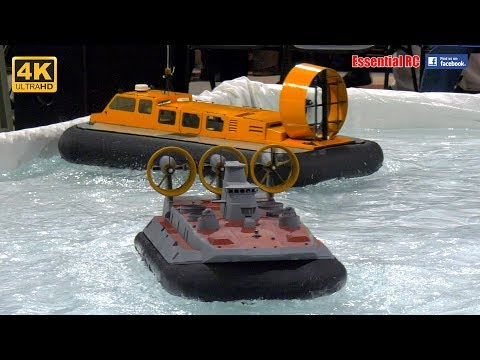 BIG and FANTASTIC radio controlled RC Hovercraft