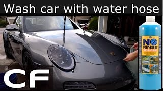 ✪ How to wash car without water hose - Optimum No Rinse (ONR Rinseless) ✪