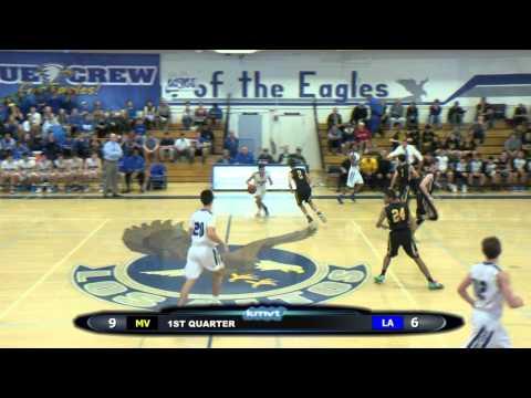 Mountain View Spartans vs Los Altos Eagles - Boys Basketball, January 23, 2016
