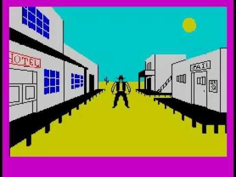 The Wild Bunch Walkthrough, ZX Spectrum