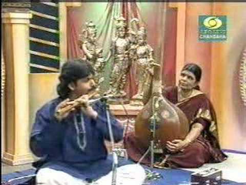 Flute Raman (V.K) and Violin Srikanth - Sahana
