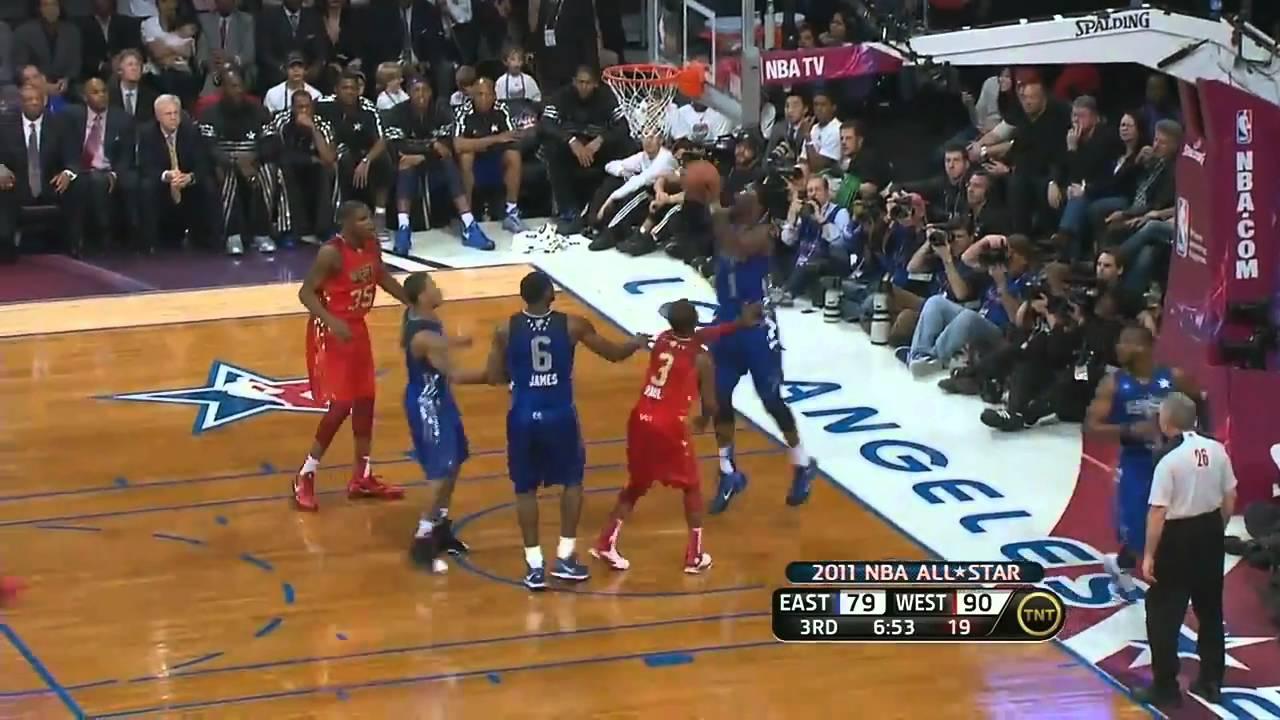 Kobe Dunks On Lebron James Hd Youtube
