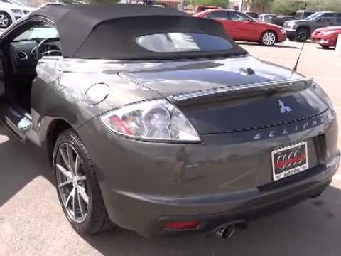 2011 mitsubishi eclipse gs spyder convertible 2d peoria glendale phoenix scottsdale temp