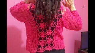 Flower Top Crochet PART 2