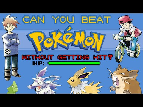 VG Myths - Can You Beat Pokemon Without Getting Hit?