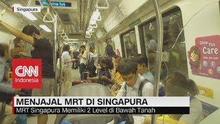 Menjajal MRT di Singapura