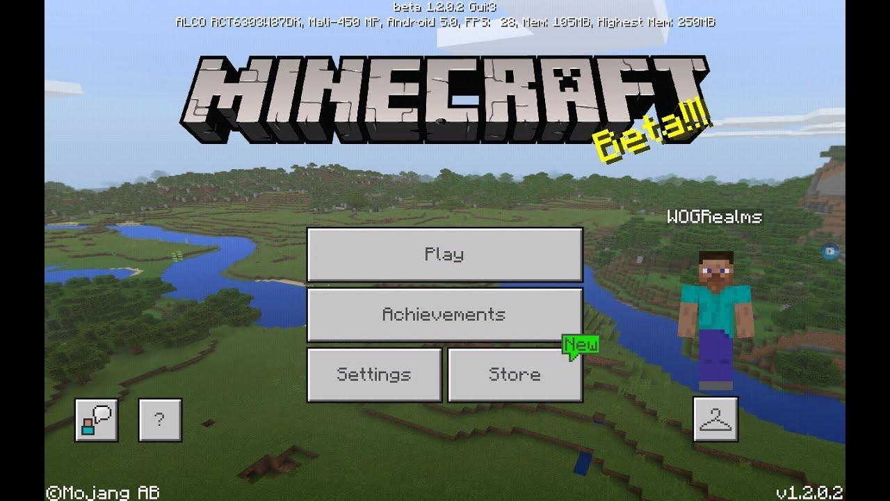 HOW TO DOWNLOAD INSTALL Minecraft BETA UPDATE On Android - Minecraft beta spielen