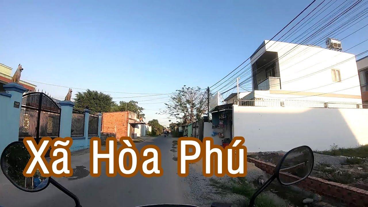 Đi thực tế thị trường nhà đất xã Hòa Phú – Huyện Củ Chi