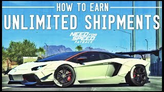 NFS Payback - HOW TO EARN UNLIMITED SHIPMENTS!!! Free Money/Vanity Upgrades/Speed Cards