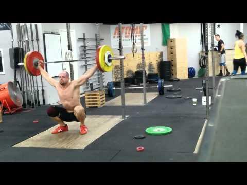 Willie McLendon 111kg Snatch
