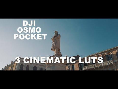 Dji Osmo Pocket 3 Cinematic Luts Download