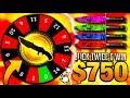 I CLICKED TWICE & WON $750+ CSGO GAMBLING BEST (CS:GO GAMBLING KNIFE REACTION)