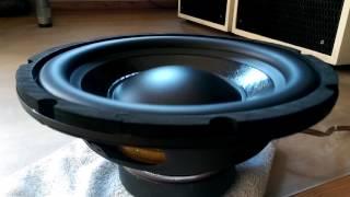 Omnes-Audio SW 10.01 Free-Air Subwoofer Excursion