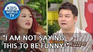 Why did Shim Jinhwa swear at Wonhyo?! [Happy Together/2018.08.02]