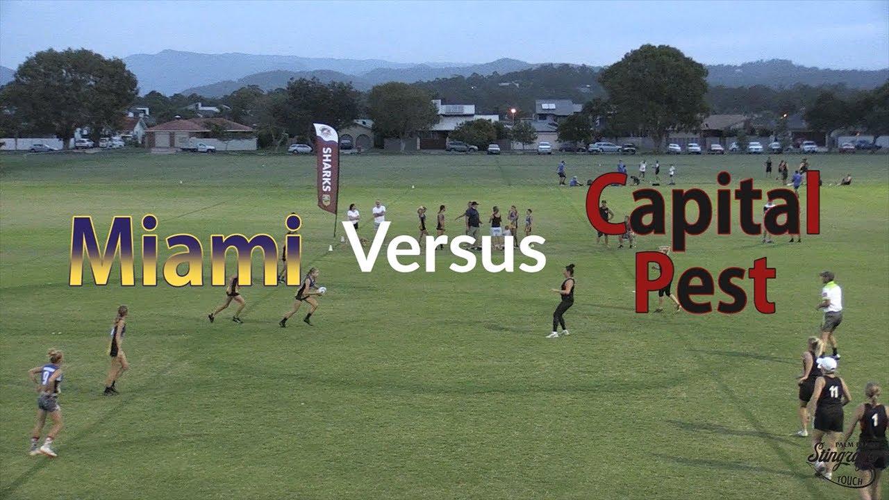 Miami Versus Capital Pest - Round 5 - Women's Division 1