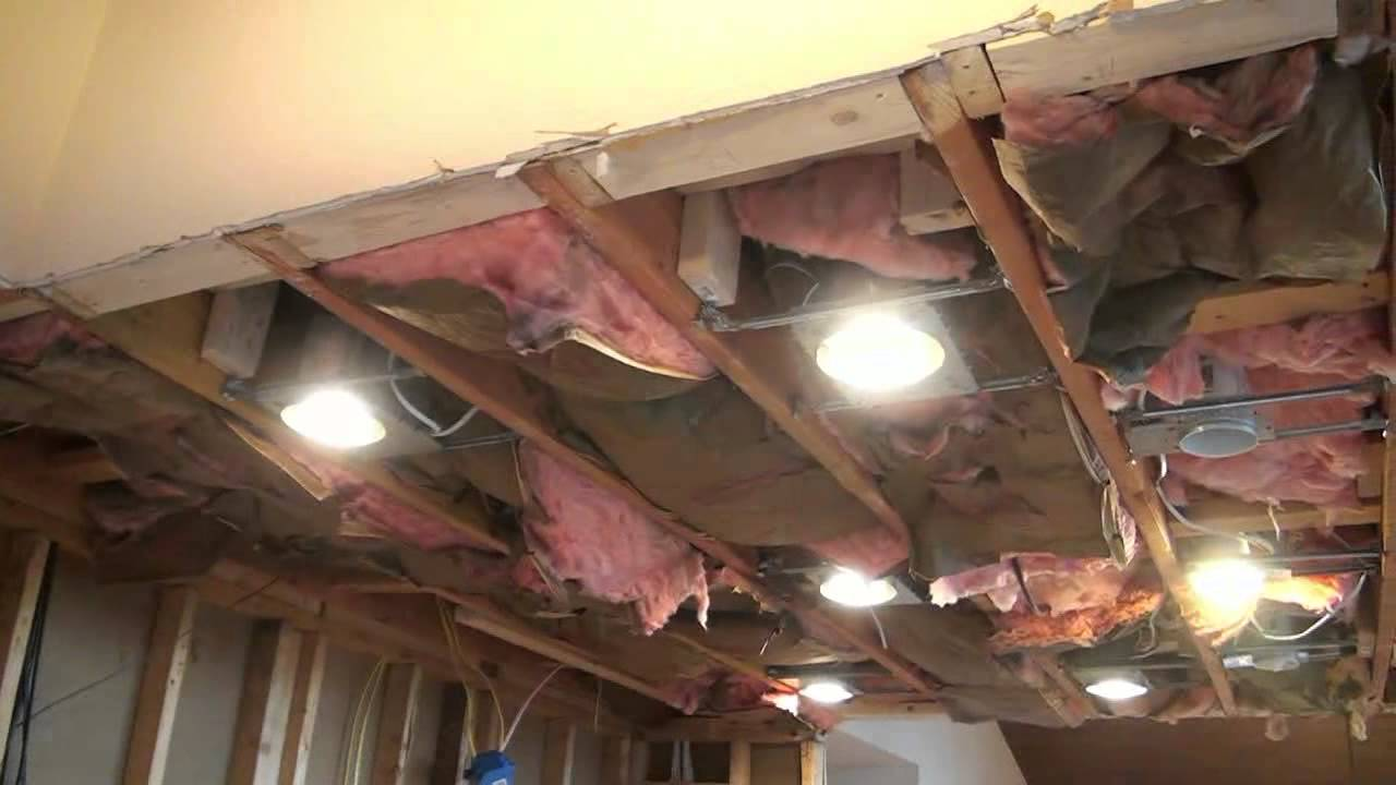 Recessed Lighting Installation  YouTube