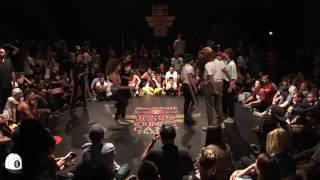 Lady Rocks vs Break2Mars 4vs4 Bgirl | 1/2 finale Red Bull BC One Camp 2017