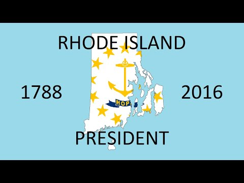 Rhode Island Presidential Election Counties